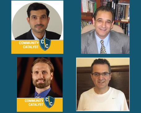 Ajmal Khan, Firas Hassan, Heath LeBlanc, Khalid Al-Olimat