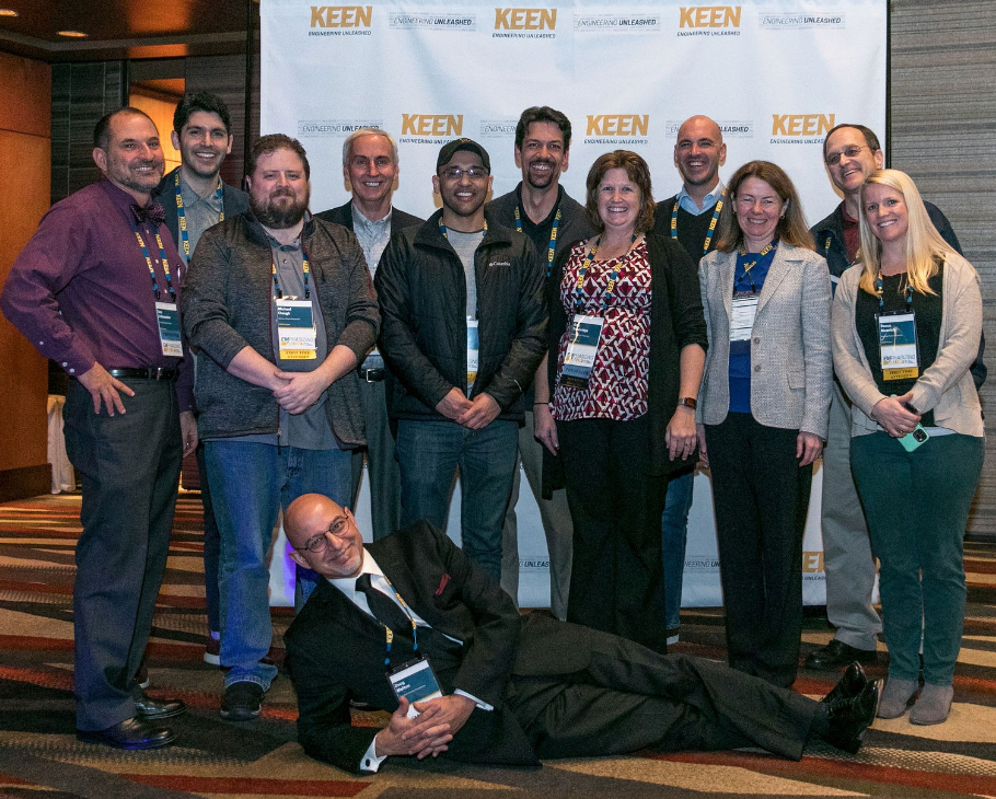 KEEN National Conference 2020 faculty group