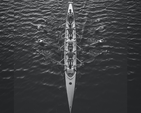 Leadership rowing