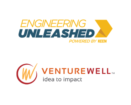Engineering Unleashed and VentureWell Logos