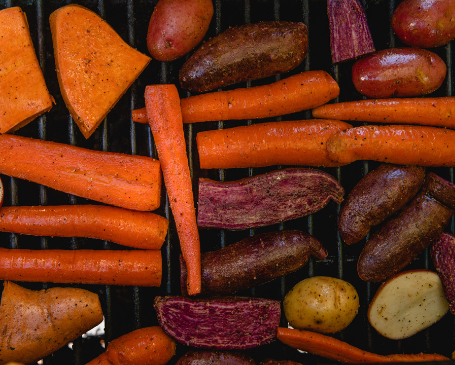 Vegetables and meats