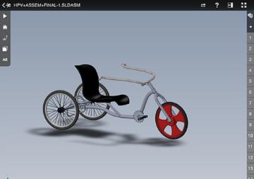Early assembly adaptive bike