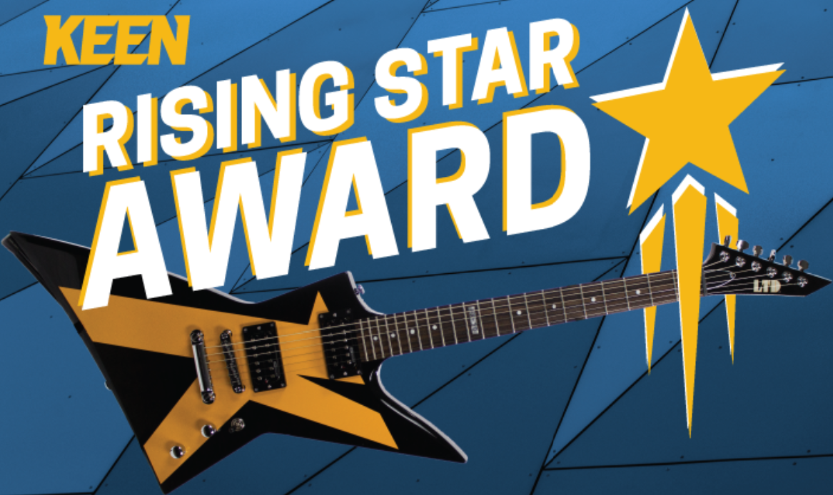 KEEN Rising Star Award banner