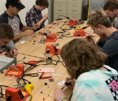 Student-led Maker Workshops for First-Year Students
